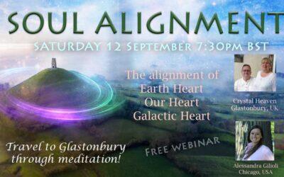 Travel to GLASTONBURY through Meditation!